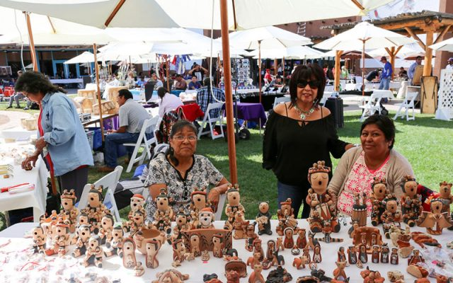 Daily Artist Vendors at the Indian Pueblo Cultural Center
